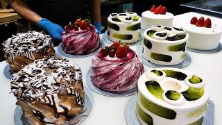 очень приятно! корейский лучший торт фабрика массовое производство - Корейская уличная еда