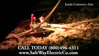 Electrical Safety: Attic Hazards when Hiring an Electricians who is Not Qualified