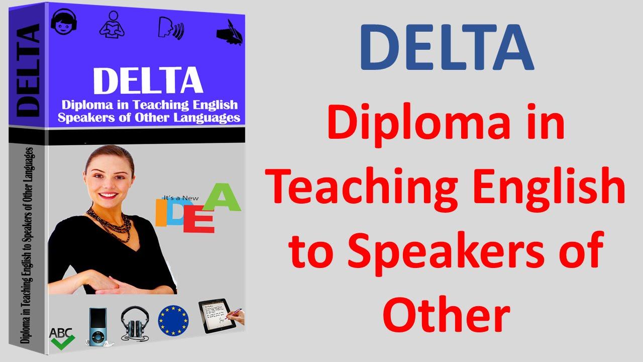 DELTA Diploma in Teaching English to Speakers Vorbreitung Diplom ...