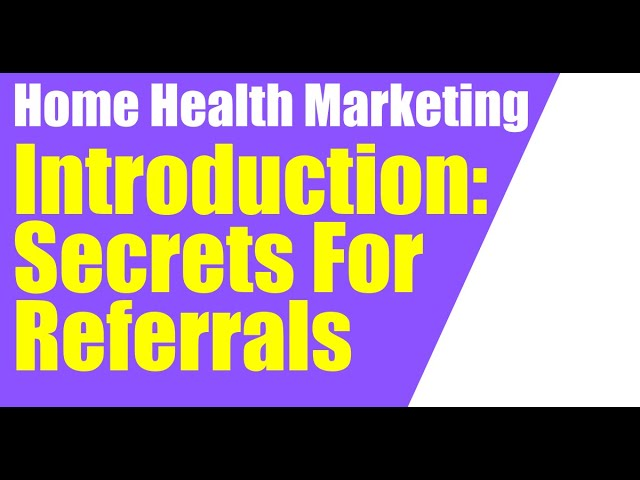 Secrets of Getting Referrals