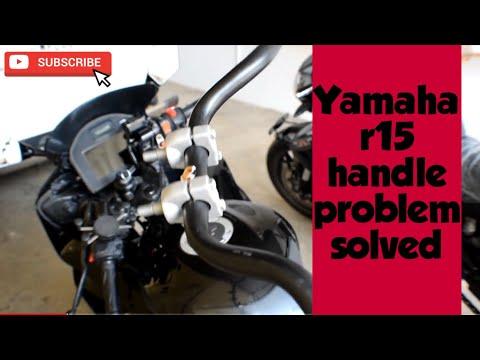 #yamahar15 Yamaha R15 Handle Problem Solved New Handle Bar Installation In R15