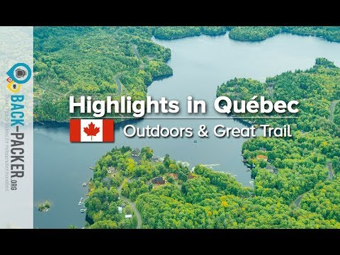 Road trip & Things to do in Quebec, Canada (Great Trail & Outdoor activities)