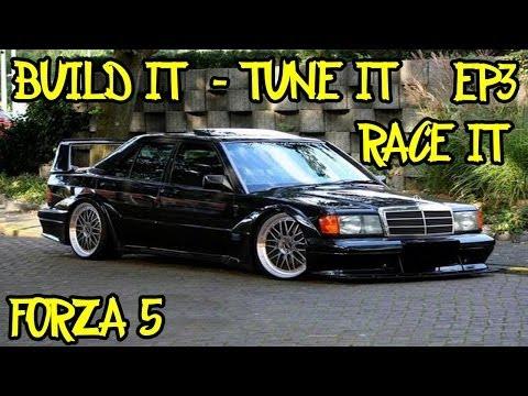"""Build it - Tune it - Race it - Episode 3 """"Suspension"""" - Mercedes 190E"""