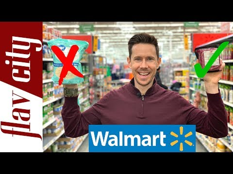 10 Healthy Grocery Items To Buy At Walmart Supercenter...And