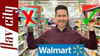 10 Healthy Grocery Items To Buy At Walmart Supercenter...And What To Avoid!