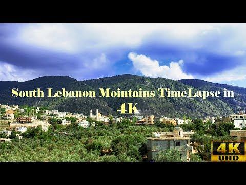 4K Timelapse | South Lebanon Mountains (4K UHD) [Nature Movement]