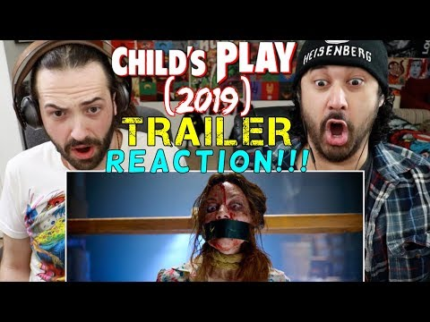 CHILDS PLAY (2019) - Official TRAILER REACTION!!!