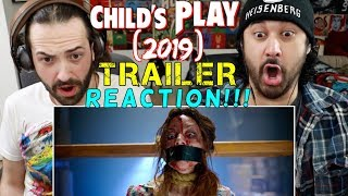CHILD'S PLAY (2019) - Official TRAILER REACTION!!!