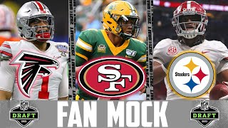 Fan Voted NFL Mock Draft (2021 NFL Mock Draft)