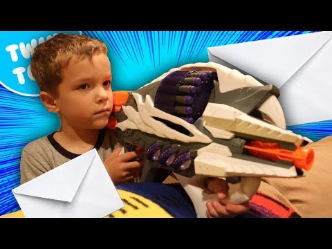 Nerf War:  Mail Time Mayhem 12