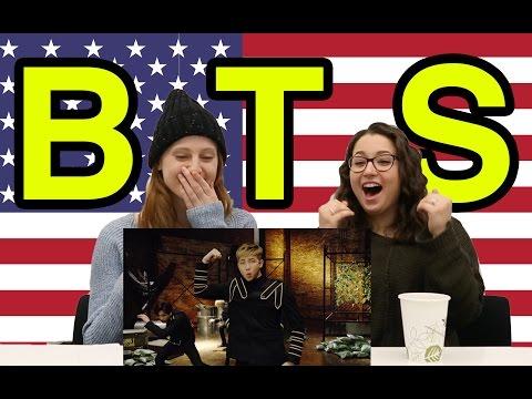 Americans Meet Kpop: BTS Dope KOR SUB