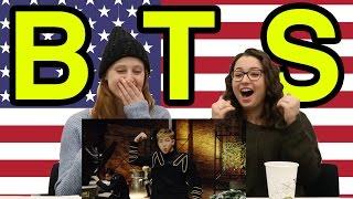 Americans Meet Kpop BTS 34 Dope 34 KOR SUB
