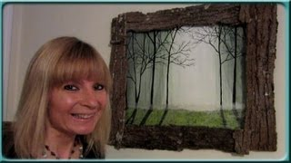 How To Make An Easy Frame For Canvas Art