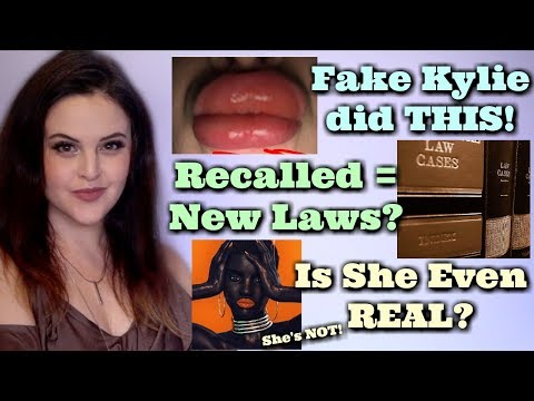 What's Up in Makeup NEWS! Fake Kylie Lip Kit Swells Woman's Face! New Cosmetic Legislation! Sims?