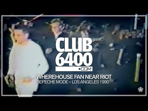 Depeche Mode - March 20, 1990 Wherehouse Fan Near Riot in Los Angeles - CLUB 6400 - 80s Music
