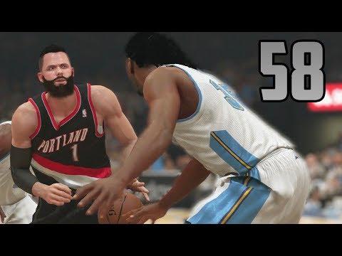 NBA 2K14 PS4 - My Player Career (Part 58 - Pepsi Center Beatdown)