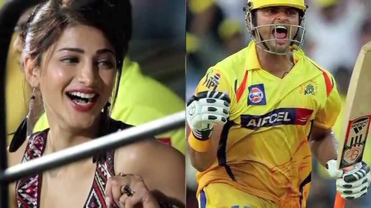 videos raina dating dating funny shruthi  Cricketer Suresh Raina, Actress Shruti Hassan, Love Affair Dating Suresh Raina, Shruti Haasan deny dating rumours- Entertainment Shruti Haasan dating Chennai Super King39;s Suresh.