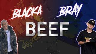 『2018 BEEF』 BLACKA VS. B RAY (FULL) 「Lyrics」