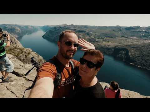 How to hike up to Preikestolen / The Pulpit Rock from Stavanger Norway 2017