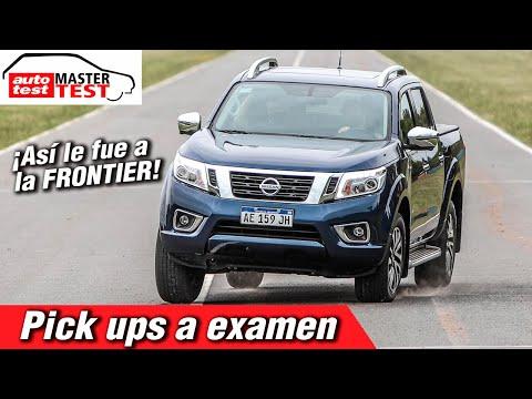 Nissan Frontier: pruebas y resultados del Master Test de pick ups