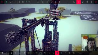 Chaos Catapult - Besiege Alpha Sandbox Random Creation #3