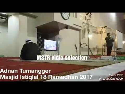 Adnan Tumangger.. Qori NASIONAL asal Medan Perform di MASJID ISTIQLAL jakarta
