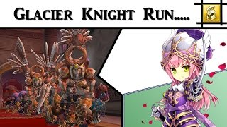 glacier knight dd run awaken knight class eden eternal