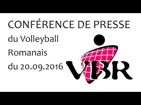 Conférence du Volley Ball Romanais