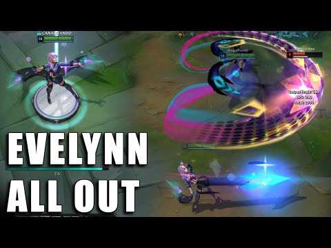 Evelynn K/DA All Out - League of Legends (Prévia)