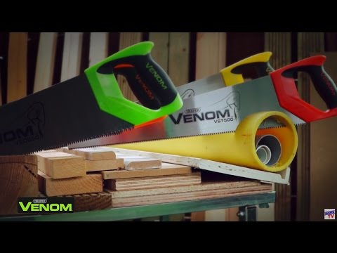 Draper 82198 350 mm Carbon Steel Venom Double Ground Tool Box Saw