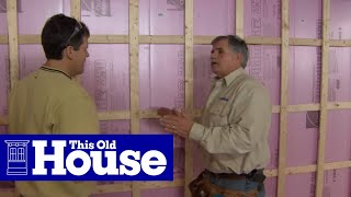 How to Insulate a Basement | This Old House