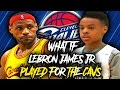 What If LeBron James Jr. Played For The Cavs? (LeBron James's son)