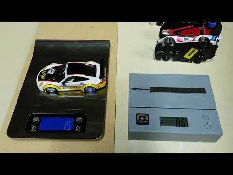 Make your own slot car motor magnet downforce tester vs Magnet Marshal