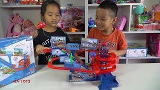 Bé Minh Chơi Đồ Chơi Tàu Hỏa Thomas and Friends Đường Ray Xe Lửa - Train Toys for Kids Play MN Toys