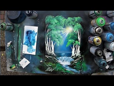 Spray Paint ART – Essence of Forest 3D