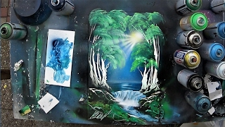 Spray Paint ART - Essence of Forest 3D