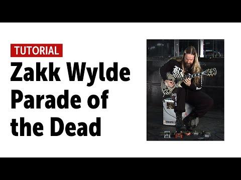 Black Label Society - Parade of the Dead - Guitar Tutorial with Zakk Wylde