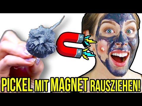 PICKEL MIT MAGNET RAUSZIEHEN? 300€ MAGNETISCHE MASKE   LIVE TEST