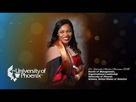 Dr. Yewande Abisola Aturamu, Doctoral Commencement Ceremony - University of Phoenix, USA
