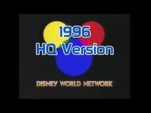 WDW Resort TV 1996 - Disney World Network - HQ Direct Capture - 동영상