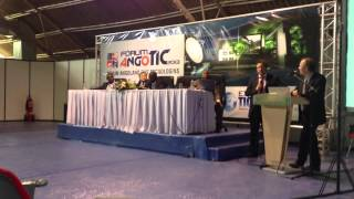 GLOBAL TELESAT AND RASCOMSTAR-QAF: Rural Telephony system conference ITCs Angola thumbnail