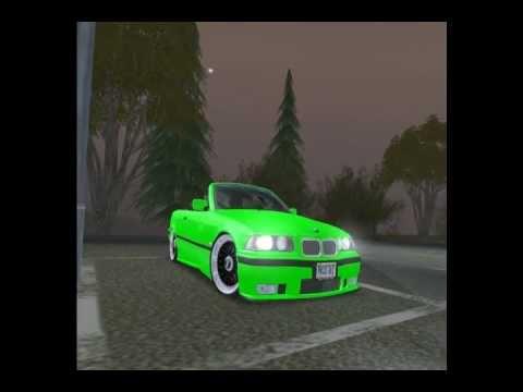 Gta San Andreas BMW e36 325i M-Paket Drift Race