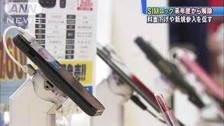 気軽に乗り換えが・・・「SIMロック」解除を義務付けへ(14/07/14) thumbnail