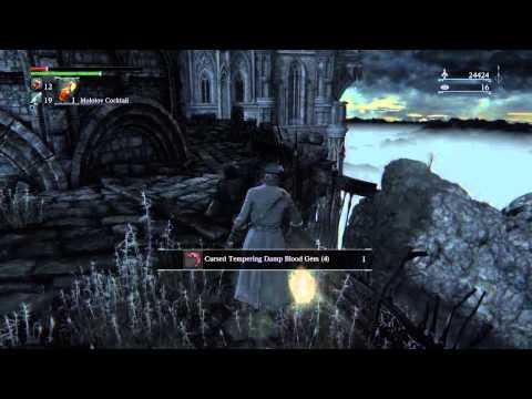 [no frenzy damage] How to easily kill brain trusts or wintern lantern in bloodborne