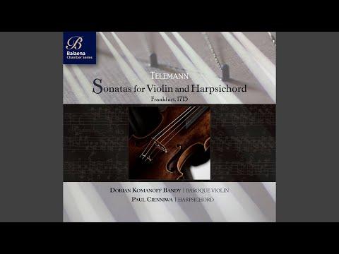 Violin Sonata in G Major, TWV 41:G1: II. Allegro