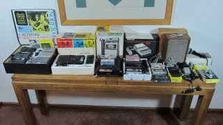 50th Anniversary of Compact Cassettes. My Norelco Carry-Corder 150 Kits & Accessories