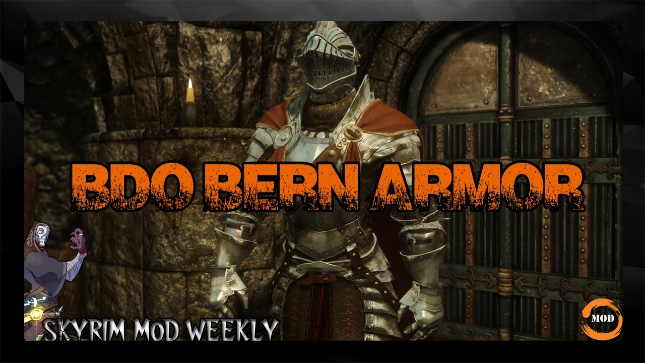 SKYRIM ARMOR MOD BDO Bern Armor at Skyrim Nexus - mods and