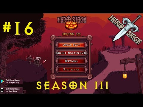 Let's Play Hero Siege 2.0 SEASON 3 #16 PIRATE [HELL] [ACT II] [German/HD]