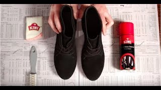 How to Recolor Your Suede & Nubuck Shoes | KIWI Shoe Care