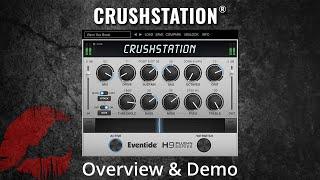Eventide - CrushStation - Overdrive Distortion 플러그인